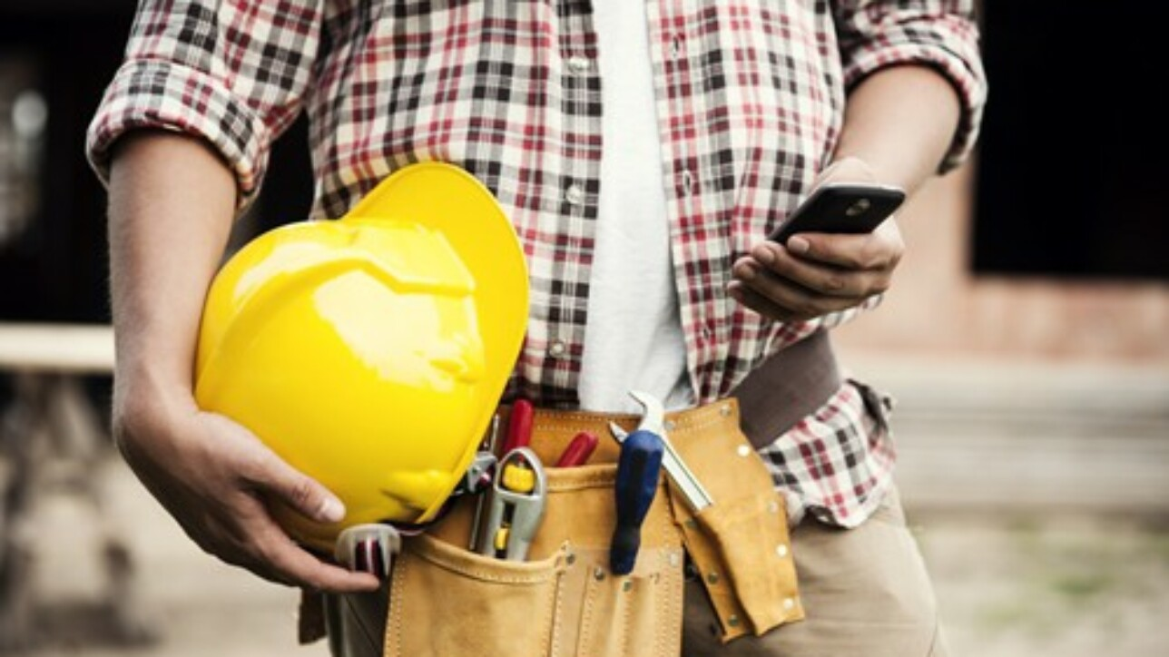 Business software on mobile devices is the latest piece of construction safety gear.