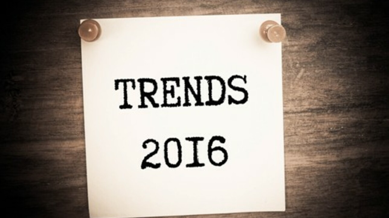 Data from CRM solutions will be critical in 2016.