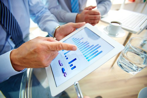 Microsoft Dynamic GP solutions provide employees with visible financial information.