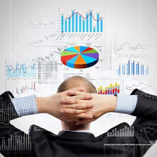 Microsoft Dynamics NAV offers simple solutions for data visualization.