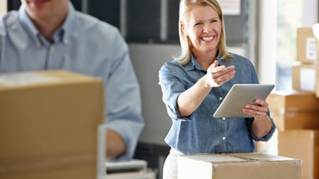 Mobile warehouses report inventory movements to the entire company infrastructure.