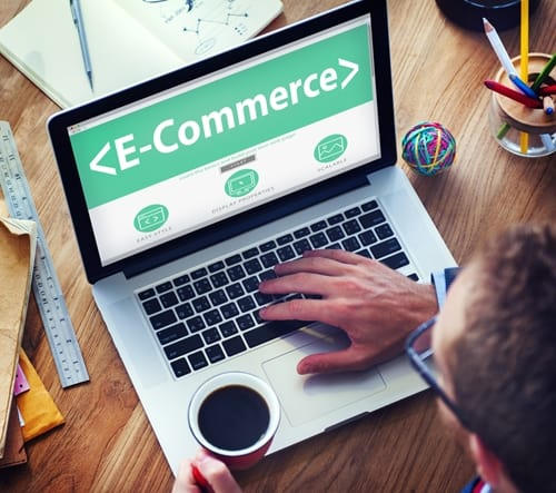 Offering products through eCommerce requires strongly integrated CRM and ERP business solutions.
