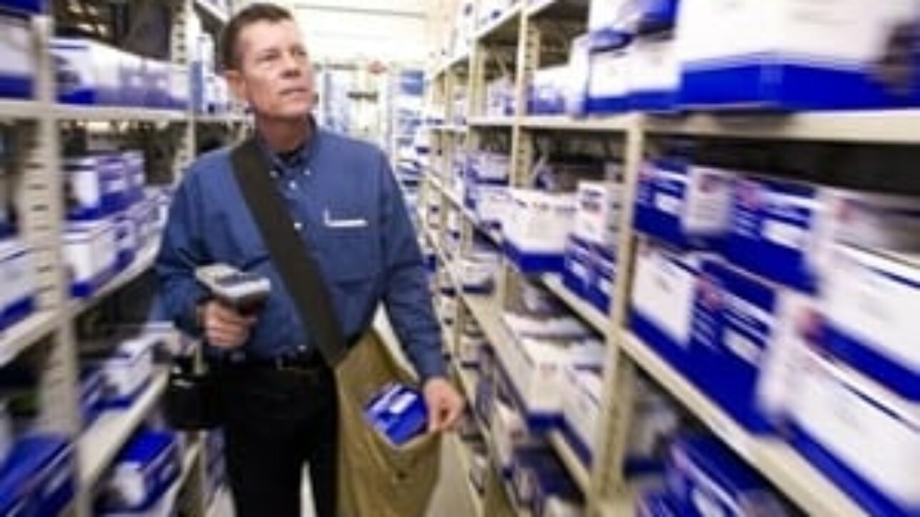 Scanning shelves and inventory provides complete oversight for ERP solution users.