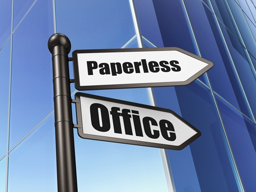 The future of business software systems is paperless.
